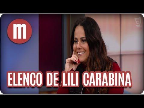 Bate-papo com o elenco de  Lili Carabina - Mulheres (21/08/17)