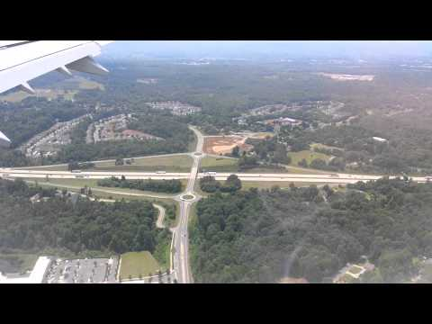 Landing on Charlotte, NC airport