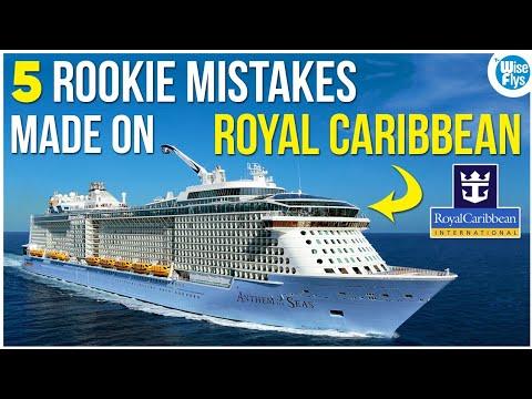 Royal Caribbean Cruises: 5 Common Mistakes To Avoid