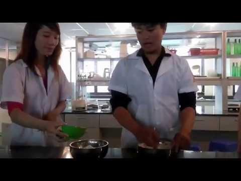 bánh quai vạc sinh viên khoa thực phẩm, dntu làm cực ngon