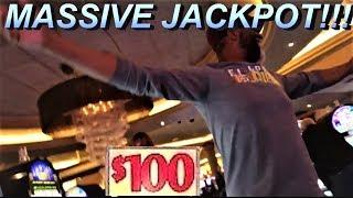 "|MASSIVE ""1"" SPIN JACKPOT| $100 SLOT| BIGGEST ""1"" SPIN JACKPOT ON YOUTUBE!!!"
