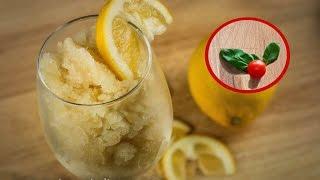 Granita (o Granizado) de Limón - Slush casero sin maquina