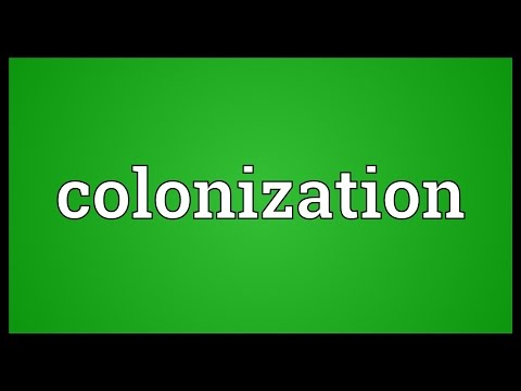 Colonization Meaning