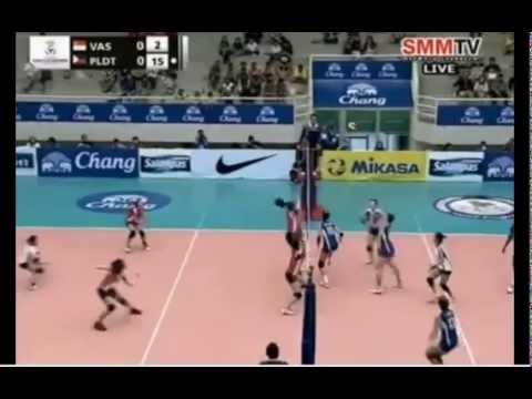 Phillipines vs Singapore - 2014 Asian Women's Club Championship