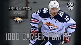 Mozyakin's Milestone: 1000 career points