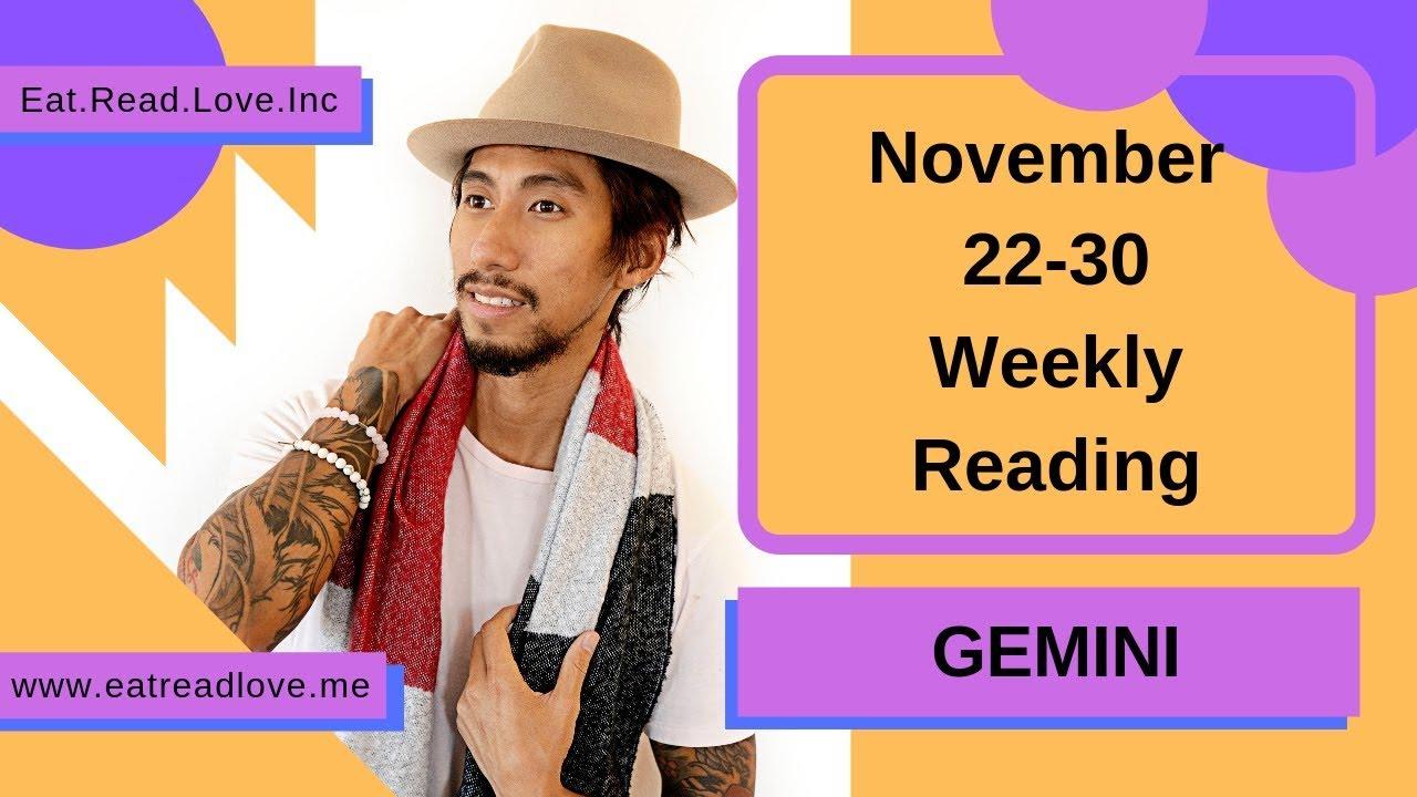 gemini tarot november 22 2019