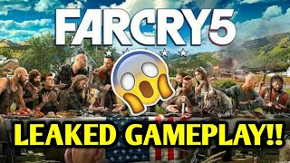 FAR CRY 5 - LEAKED GAMEPLAY! - 3 MINUTES