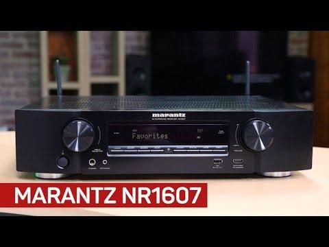 Marantz's slimline receiver packs in the features