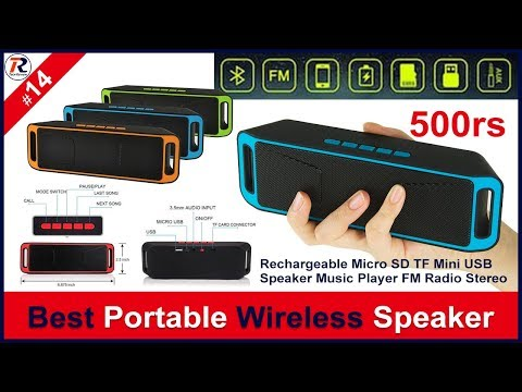 Bluetooth Speaker TF USB FM Radio Dual Bass Sound Subwoofer
