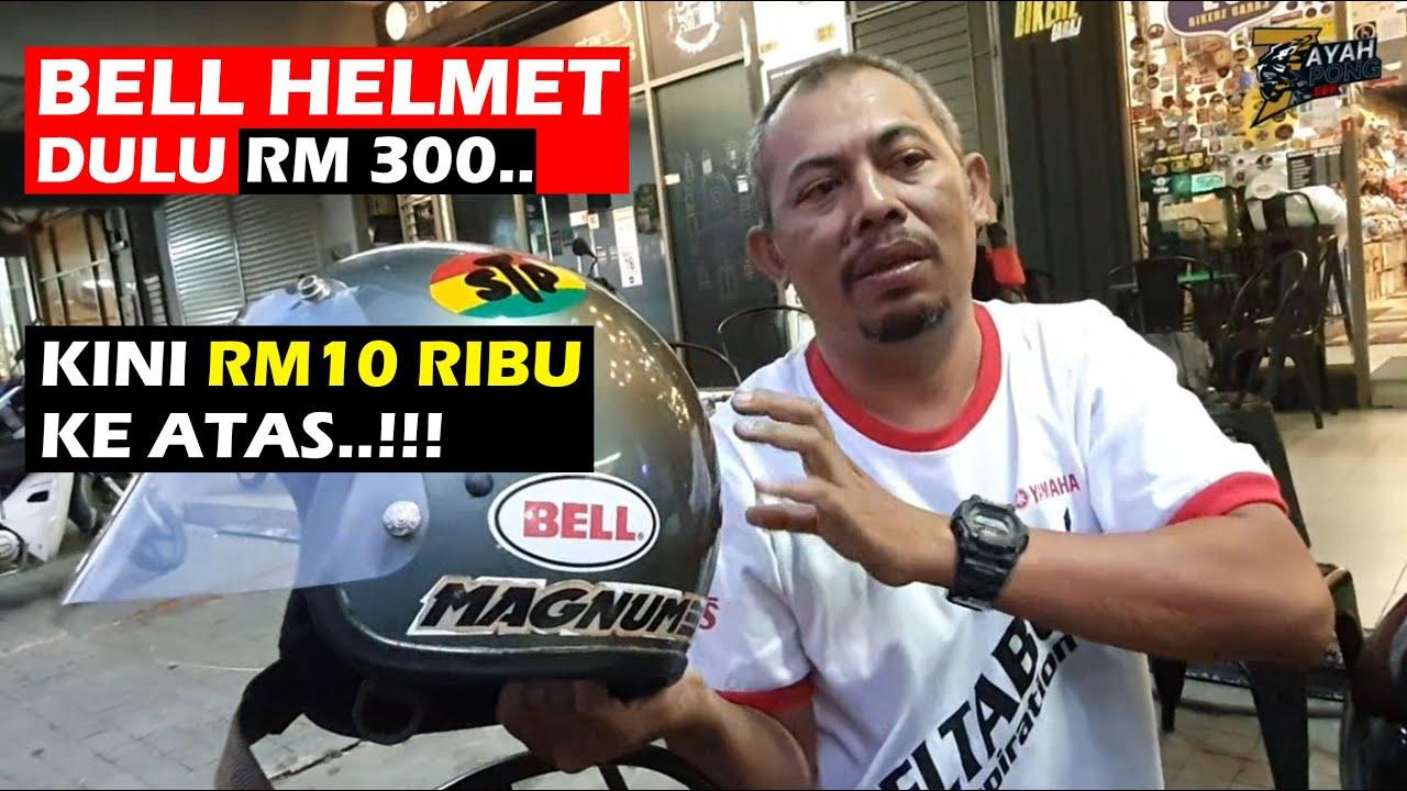 Asal usul sejarah Helmet Bell ada kaitan dengan PISTOL Magnum..???