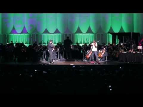 "Black Violin performs ""A-Flat"" w/ The Imperial Symphony Orchestra (2014)"