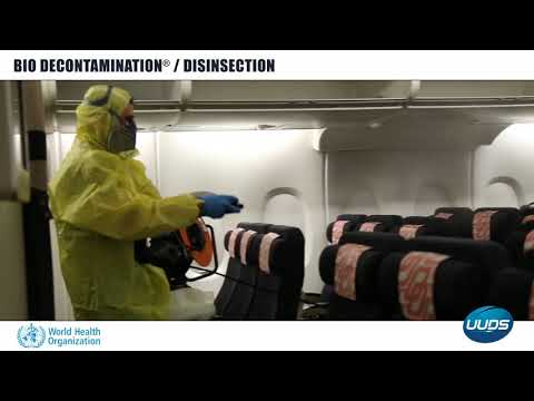 BIO DECONTAMINATION ® (Viruside, Bactéricide, Fongicide). Norme médical.