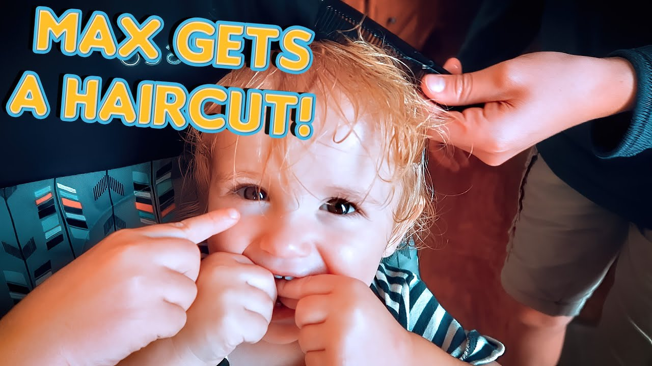 Baby's First Haircut!