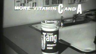 1959 Tang Orange Drink Commercial