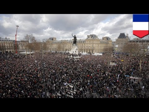 Millions march in Paris: Largest demonstration in French history in wake of terrorist attack