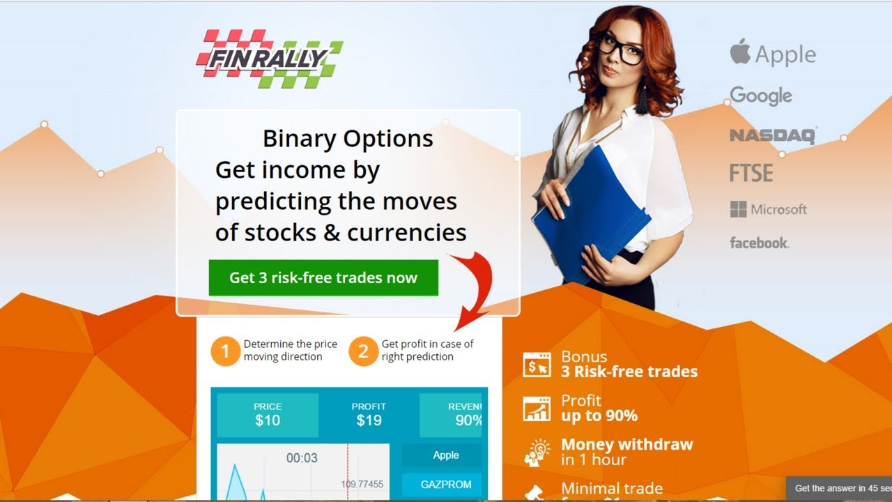 Binary options account opening