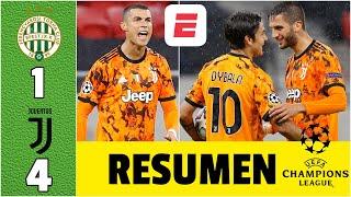 Ferencvaros 1-4 Juventus DOBLETE de Morata y GOL de Dybala. CR7 suma asistencia | Champions League