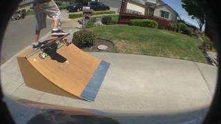 Mini Quarter Pipe Sesh