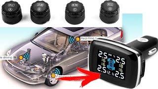 видео Система контроля давления в шинах