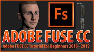 Adobe Fuse cc Beta - Adobe fuse tutorial - adobe fuse animation