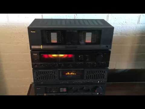 SANSUI component stereo system