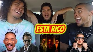 Marc Anthony, Will Smith, Bad Bunny - Está Rico (Official Video) Reaction Review