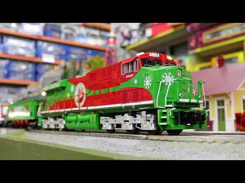 Christmas Model Trains