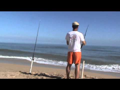 Surf fishing cape canaveral youtube for Cape canaveral fishing