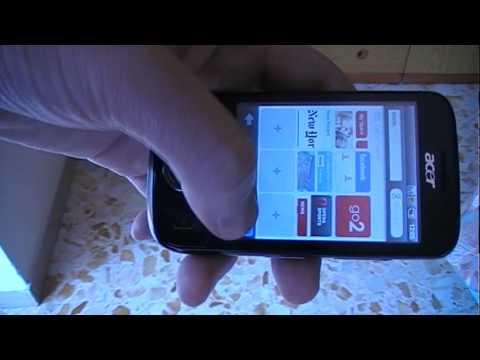 beTouch e110: pillole di Android