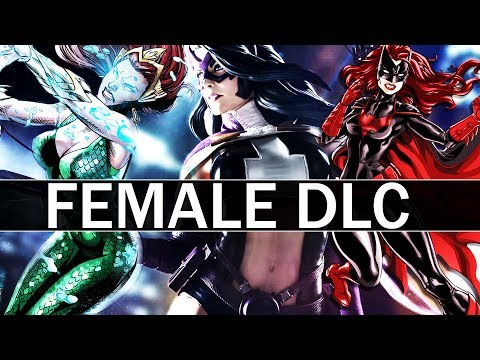 Injustice 2 - Quick Motherboxes, Female DLC, and Future Premier Skins (Q&A)