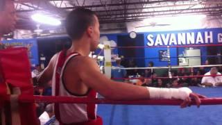 Second Amateur Boxing Match