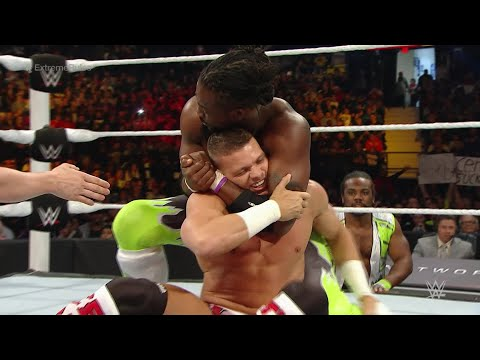 Cesaro & Tyson Kidd Vs. The New Day - WWE Tag Team Championship Match: WWE Extreme Rules 2015