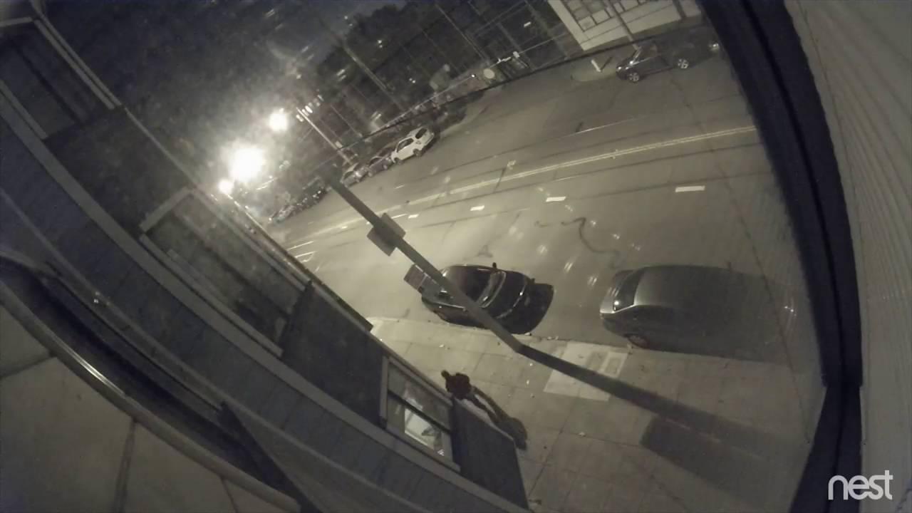 Nest Cam Thief Breaks Through Car Window In San