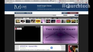 Streaming Your Sermon - Church Technology - Episode 4 - Tech-Zen.tv - Alixa.tv
