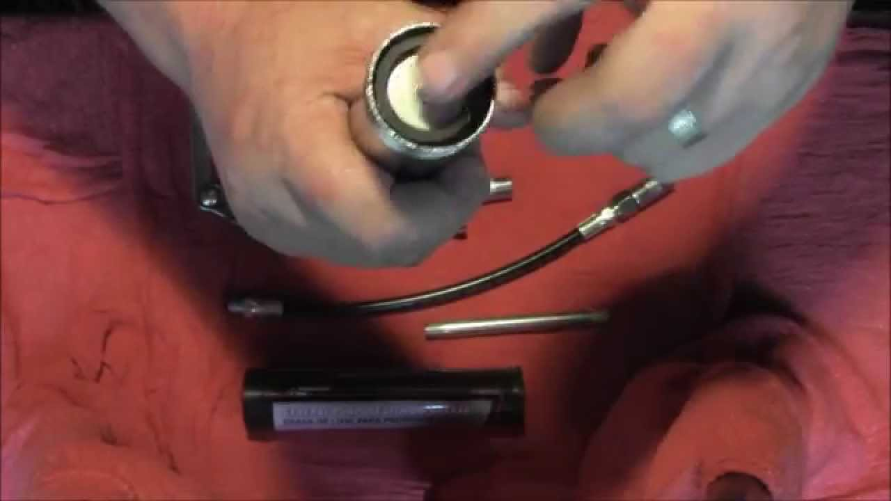 How to assemble and use a grease gun