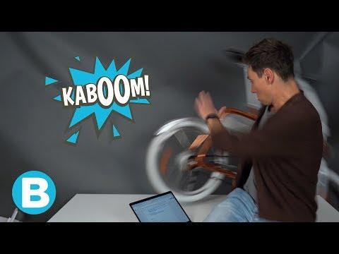 OEPS: deze e-bike gaat er ineens zelf vandoor!