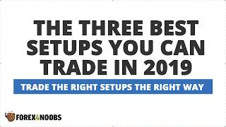 Three Best Forex Trading Setups To Trade in 2019 (Live Training)