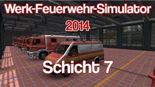 Werk-Feuerwehr-Simulator 2014 | Florian 4 | Schicht 7 | Rauch Vergiftung
