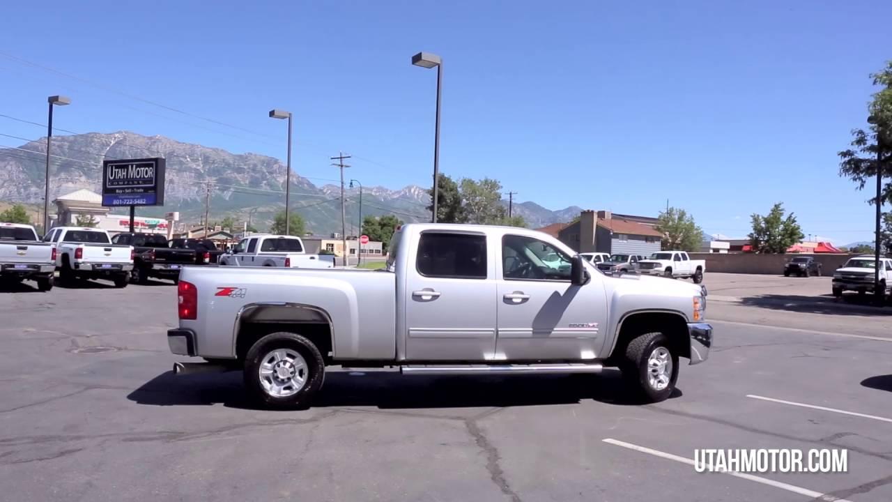 2010 Chevrolet Silverado 2500HD SLT 6.6L Duramax Diesel - Utah ...