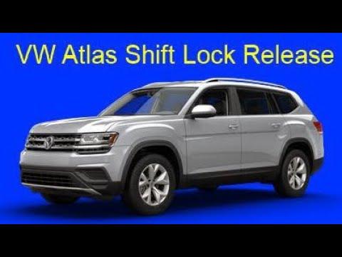 VW Atlas Shift Lock Release
