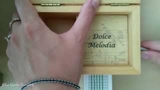 Maledetta PRimavera, L. GOGGI - Carillon Portagioie musicale personalizzato con spartito