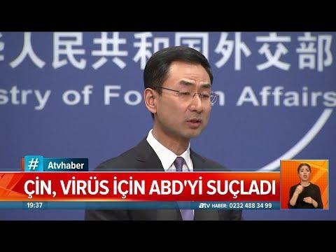 Çin Virüs Için Abd'yi Suçladı! - Atv Haber 13 Mart 2020