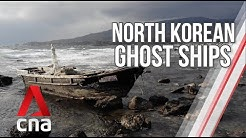 """The mystery of North Korean """"ghost ships"""" 