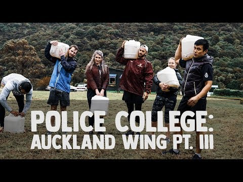 New Zealand Police College 3: Mud, Sweat & an Early Christmas!