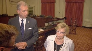 Wisniewski, Weinberg Media Avail Following Testimony from Pat Schuber to NJ Select Committee