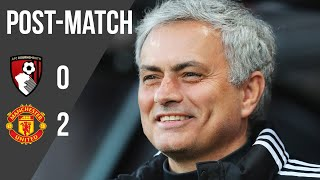 Jose Mourinho: Manchester United showed 'good desire' to win the game