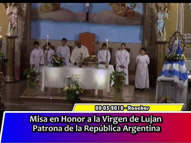Misa en honor a la Virgen del Lujan