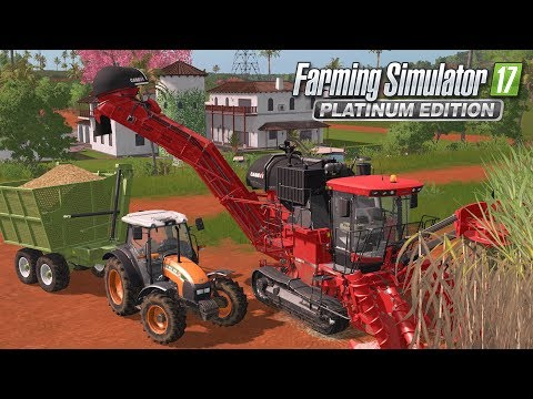 Farming Simulator 17 | TEST EN EXCLUSIVITÉ DU DLC PLATINUM !