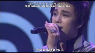 ROM/HAN/ENG; SS501 Let Me Be The One live