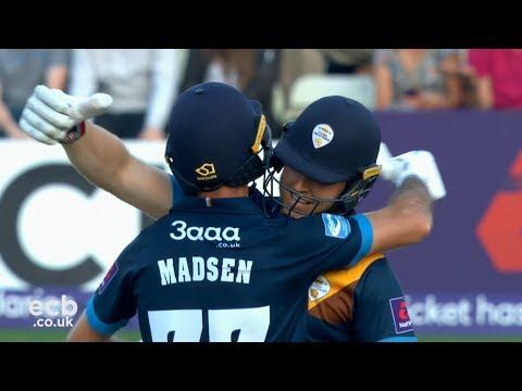 HIGHLIGHTS: NatWest T20 Blast vs Worcestershire Rapids 2017
